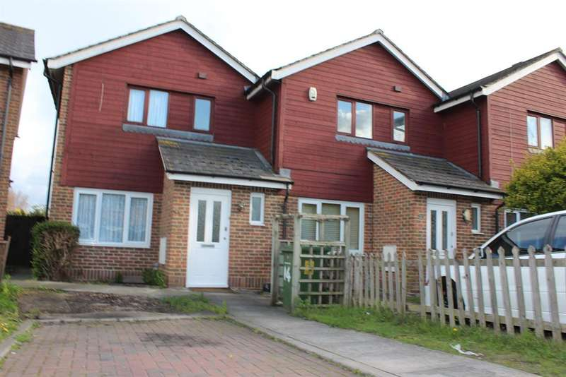 3 Bedrooms End Of Terrace House for sale in Meadowford Close, Thamesmead, London , SE28 8GA
