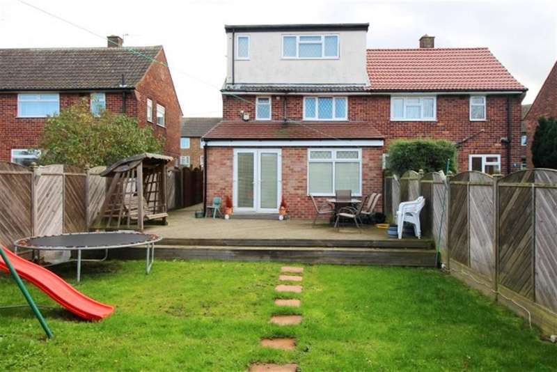3 Bedrooms Semi Detached House for sale in Harley Gardens, Bramley, LS13 4QB