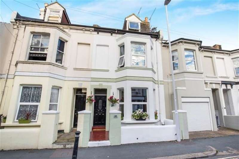 4 Bedrooms Terraced House for sale in Clifton Road, Worthing, West Sussex, BN11 4DP