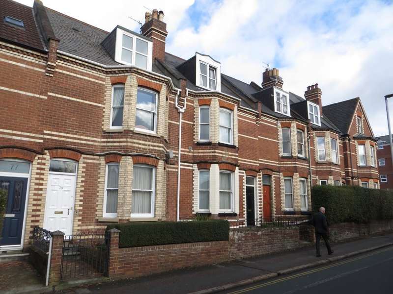 6 Bedrooms Terraced House for sale in Magdalen Road, Exeter