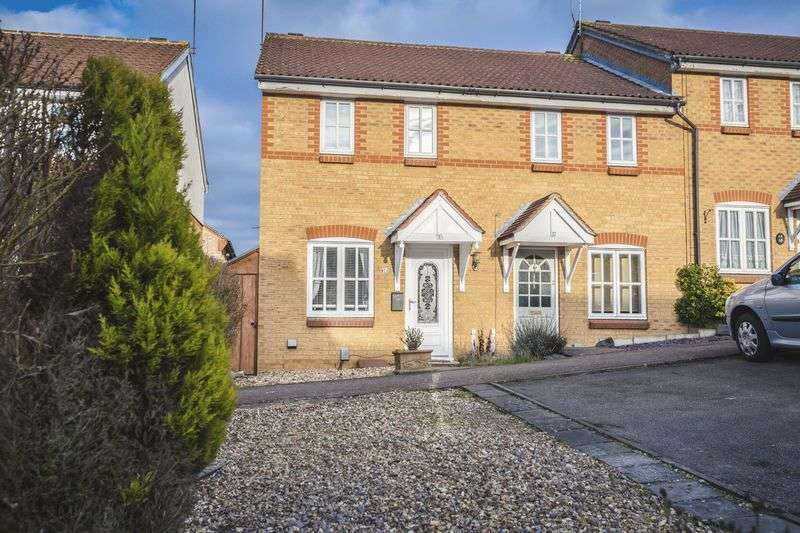 2 Bedrooms Terraced House for sale in Badgers Close, Hertford