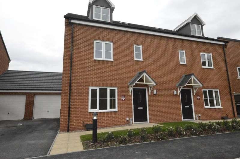 4 Bedrooms Semi Detached House for sale in Nightingale Walk, Lightmoor, Telford, tf7
