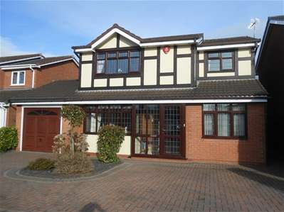 4 Bedrooms Detached House for sale in Birkdale Road, Turnberry, Bloxwich