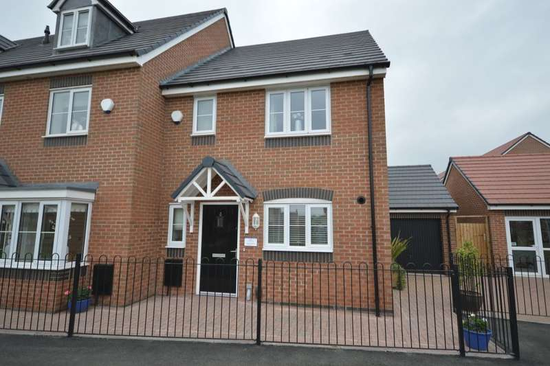 3 Bedrooms Semi Detached House for sale in Sommerfeld Road, Hadley, Telford, TF1