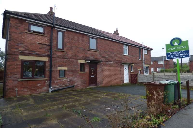 3 Bedrooms Semi Detached House for sale in Crescent Avenue, Rothwell, Leeds, LS26