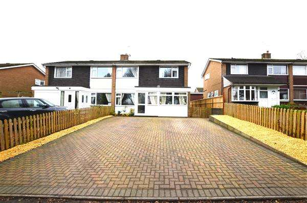 3 Bedrooms Semi Detached House for sale in Gallowstree Lane, Westlands, Newcastle