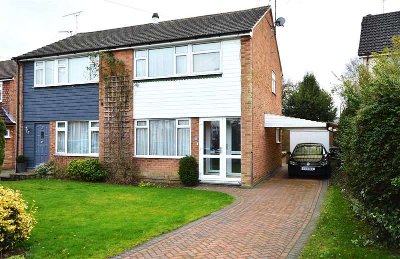3 Bedrooms Semi Detached House for sale in St. Marys Close, Great Baddow, Chelmsford