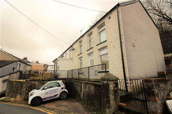 2 Bedrooms End Of Terrace House for sale in Penygraig Road, Penygraig, Tonypandy