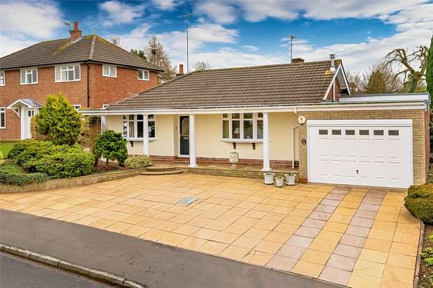 3 Bedrooms Detached Bungalow for sale in 47 The Wold, Claverley, WOLVERHAMPTON, Shropshire