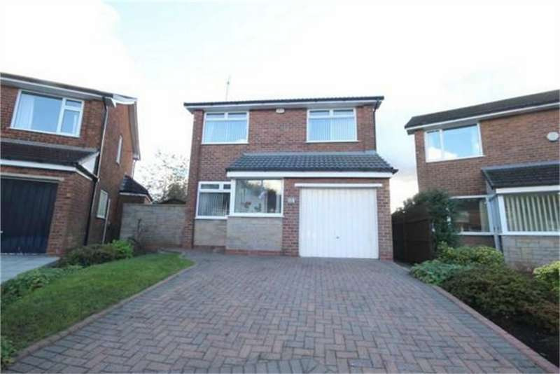 3 Bedrooms Detached House for sale in Thornhill Drive, Worsley, Manchester