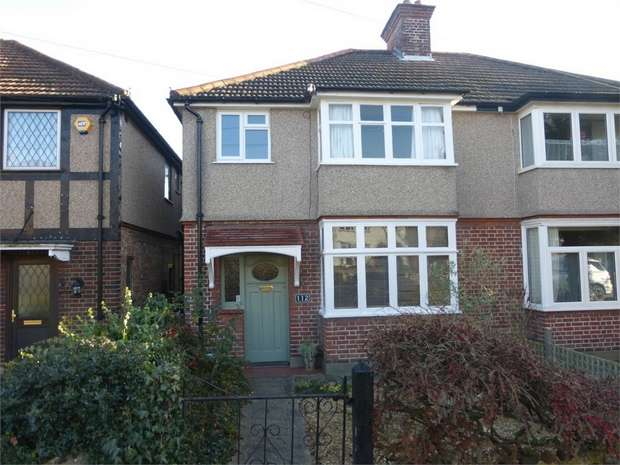 3 Bedrooms Semi Detached House for sale in Woodland Gardens, Isleworth, Middlesex