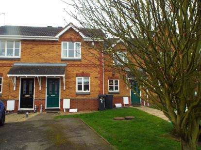 2 Bedrooms Terraced House for sale in Adelaide Close, Leicester