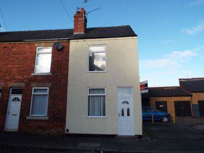 2 Bedrooms End Of Terrace House for sale in Titchfield Street, Mansfield, Nottinghamshire