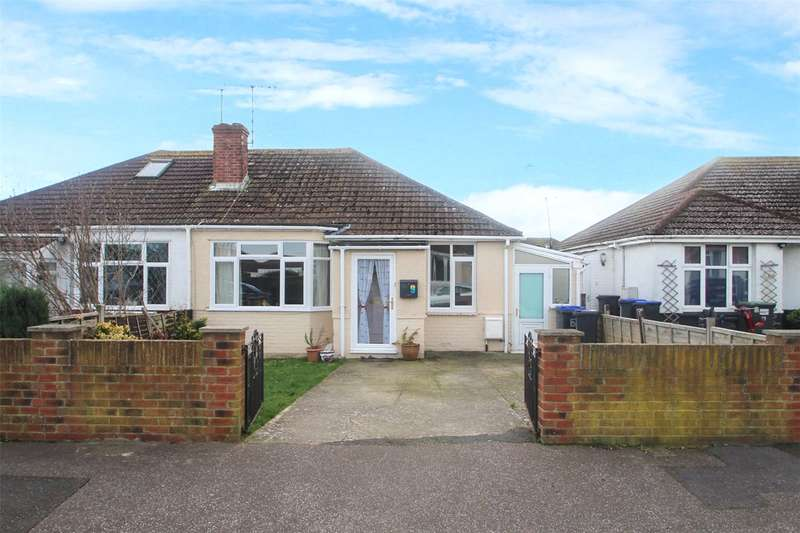 2 Bedrooms Semi Detached Bungalow for sale in Gordon Road, Lancing, West Sussex, BN15
