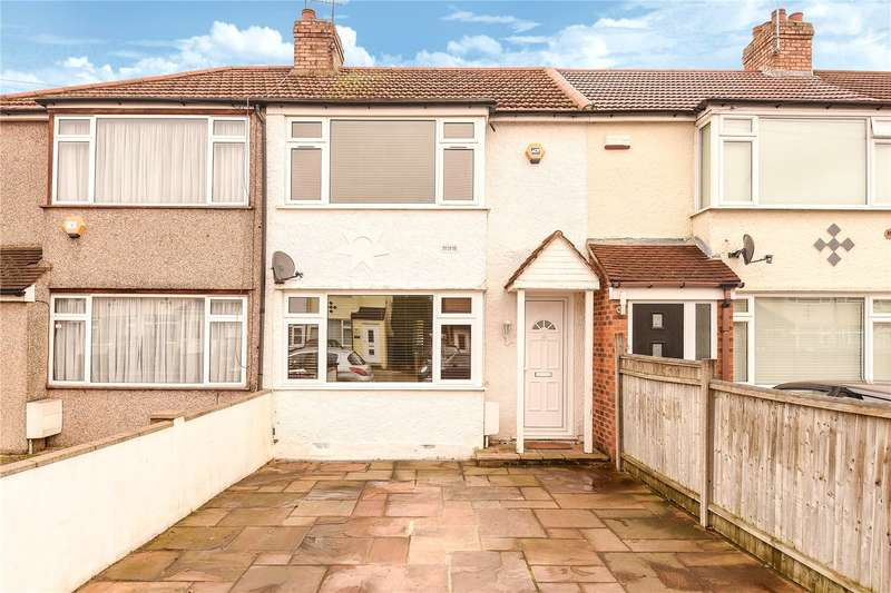 3 Bedrooms Terraced House for sale in Lynhurst Crescent, Uxbridge, Middlesex, UB10