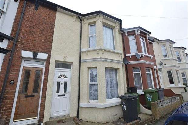 3 Bedrooms Terraced House for sale in Grove Road, HASTINGS, East Sussex, TN35 4JS