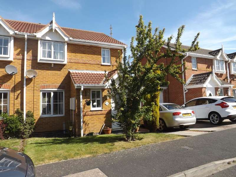3 Bedrooms Semi Detached House for sale in Priory Park, Amble, Morpeth, Northumberland, NE65 0HY