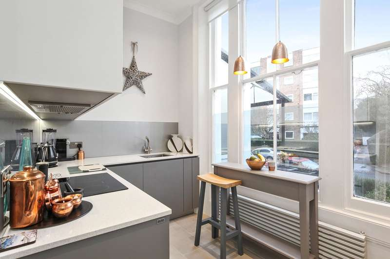 1 Bedroom Flat for sale in Priory Road, South Hampstead, London, NW6