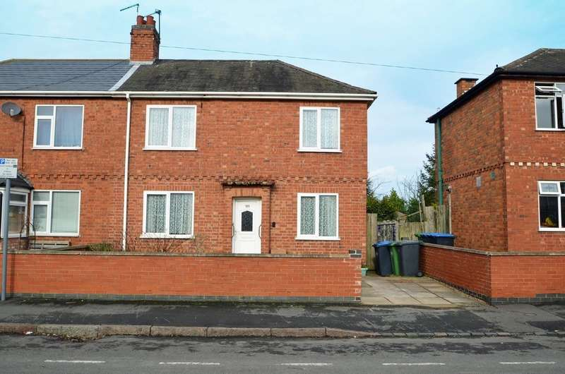 2 Bedrooms Semi Detached House for sale in Abbey Street, Rugby
