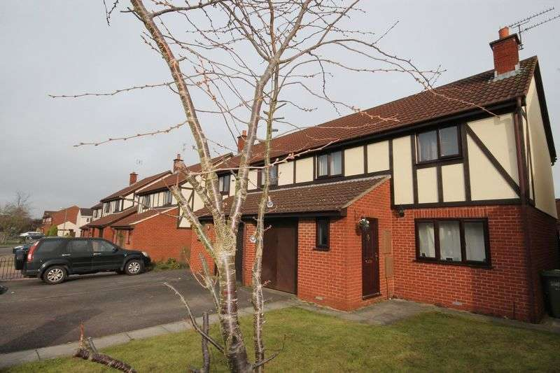 3 Bedrooms Semi Detached House for sale in Plover Close, Yate