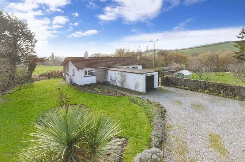 3 Bedrooms Detached Bungalow for sale in South Knighton