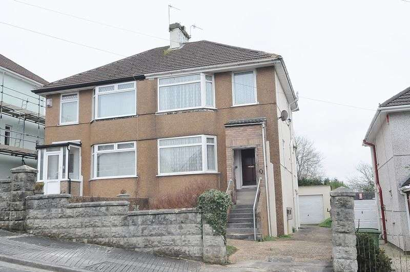 3 Bedrooms Semi Detached House for sale in Dunstone Road, Plymouth. 3 Bed house in need of modernisation