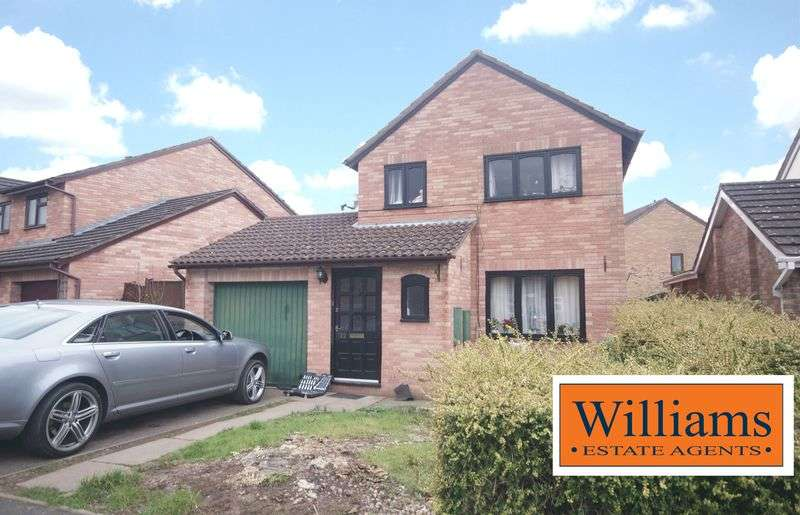 3 Bedrooms Detached House for sale in Buckfast Close, Hereford