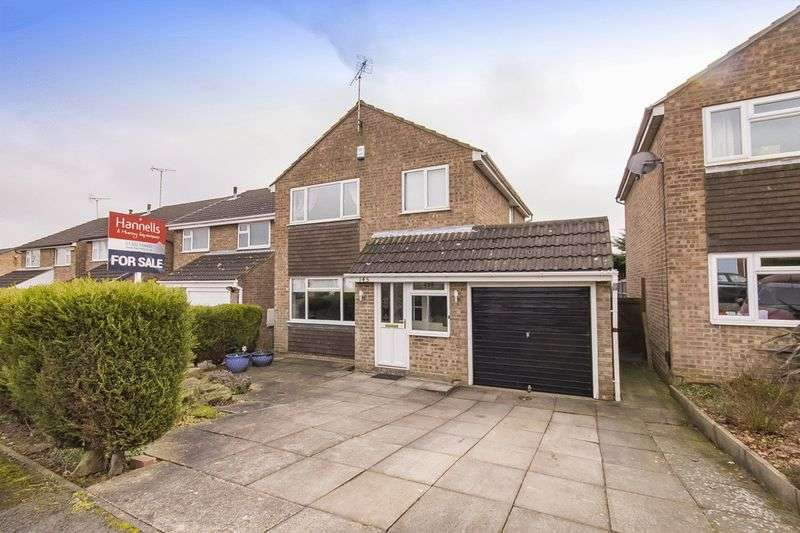 3 Bedrooms Detached House for sale in LAMBOURN DRIVE, ALLESTREE