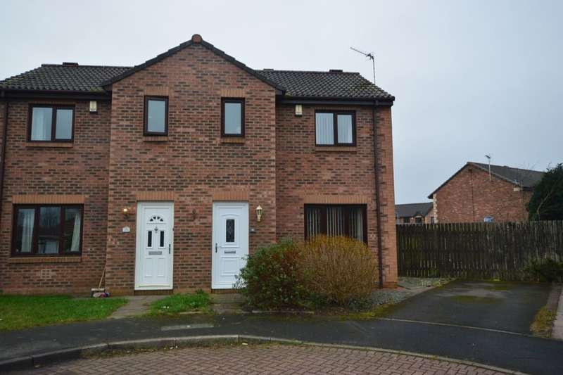 2 Bedrooms Semi Detached House for sale in Meadow Vale, Seaton, Workington, CA14