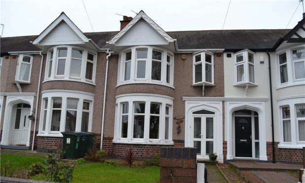 3 Bedrooms Terraced House for sale in Keresley Road, Keresley, Coventry, West Midlands