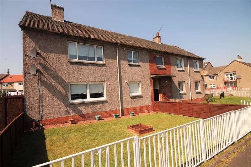 2 Bedrooms Flat for sale in Kelso Quadrant, Coatbridge