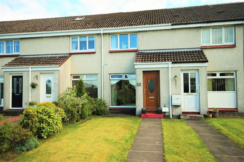 2 Bedrooms Terraced House for sale in Redburn Place, Abronhill, Cumbernauld