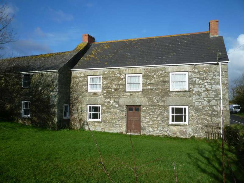 4 Bedrooms Farm House Character Property for sale in Farmhouse and Stone Barns, Sithney, Helston TR13
