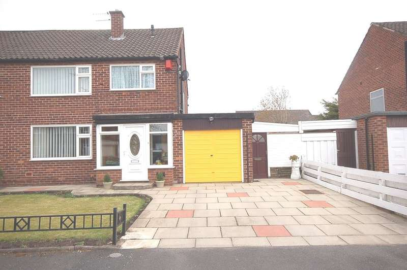3 Bedrooms Semi Detached House for sale in Gresty Avenue, Peel Hall, Manchester M22