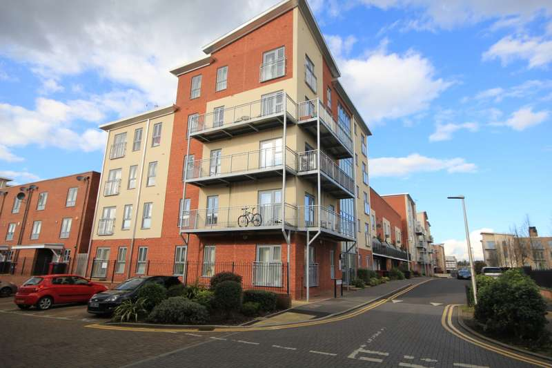 2 Bedrooms Apartment Flat for sale in Bosworth House, Battle Square, Reading, RG30