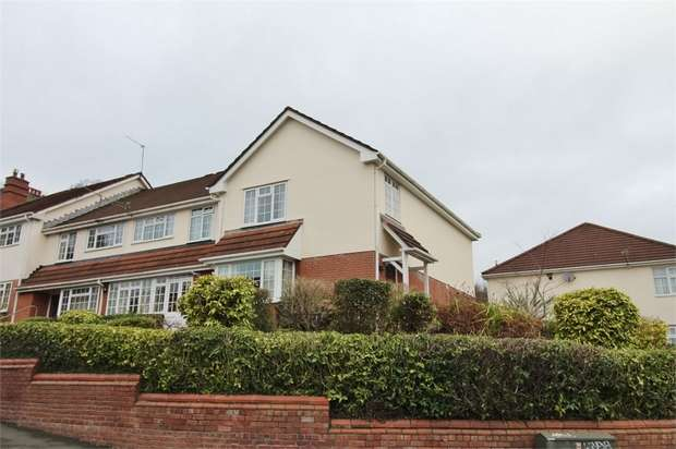 3 Bedrooms End Of Terrace House for sale in The Mews, Fields Park Avenue, Fields Park Avenue, Newport