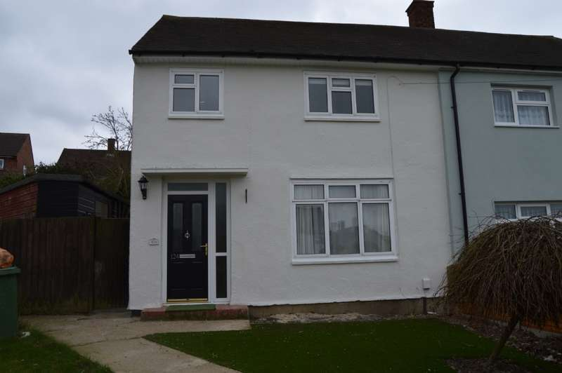 3 Bedrooms Semi Detached House for sale in Chatteris Avenue, Harold Hill