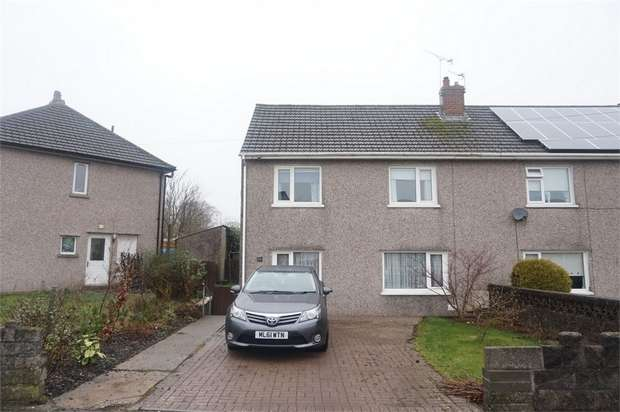 3 Bedrooms Semi Detached House for sale in Hill View, Pontllanfraith, BLACKWOOD, Caerphilly