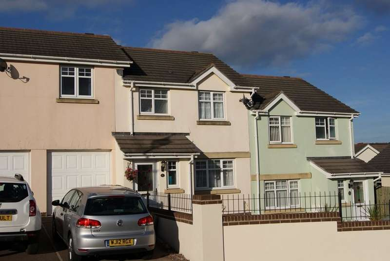 3 Bedrooms Terraced House for sale in Chestnut Crescent, Chudleigh TQ13