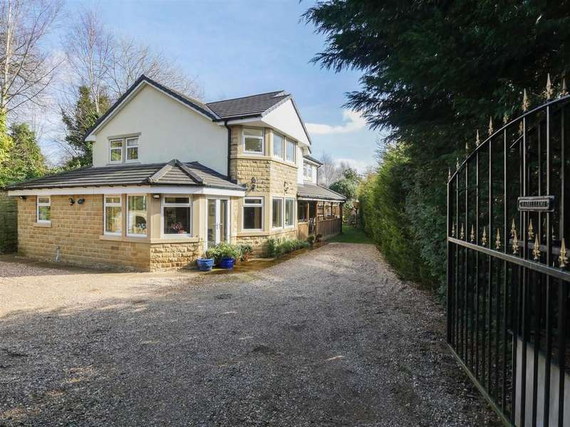 4 Bedrooms Detached House for sale in Woodlands Close, Apperley Bridge, Bradford
