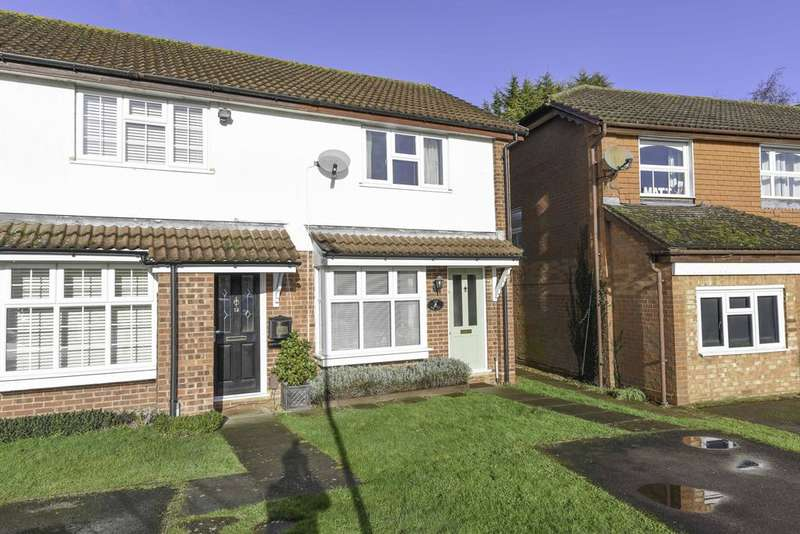 2 Bedrooms End Of Terrace House for sale in Viner Close, WALTON ON THAMES KT12