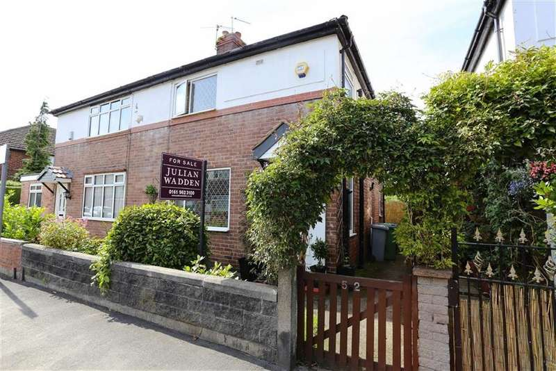3 Bedrooms Semi Detached House for sale in Waverley Road, Sale, Cheshire