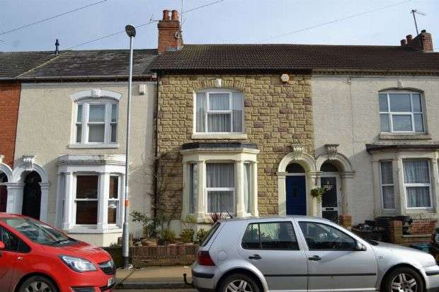 3 Bedrooms Terraced House for sale in Milton Street, Poets Corner, Northampton NN2 7JF