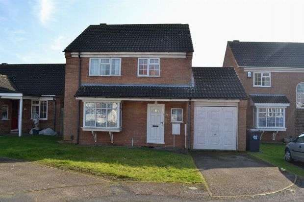 4 Bedrooms Detached House for sale in Beckett Way, Spinney Hill, Northampton NN3 6EX