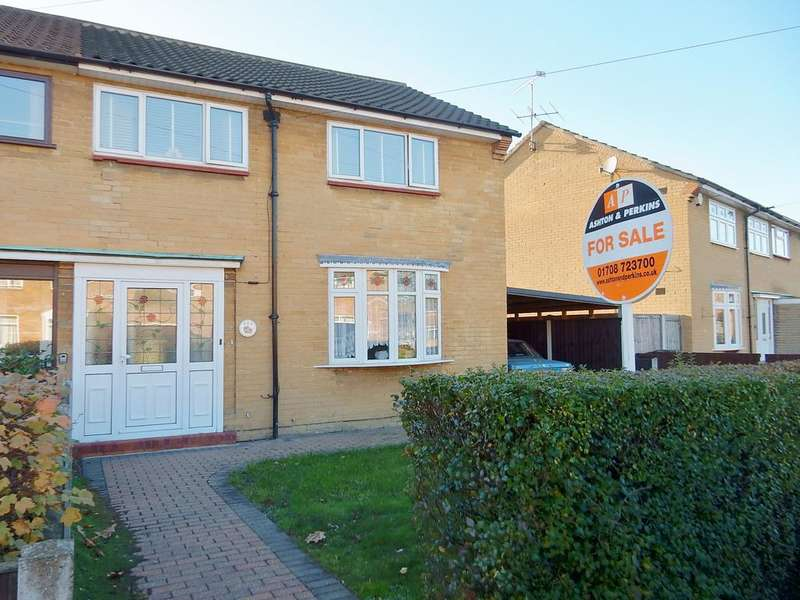 3 Bedrooms Semi Detached House for sale in Marston Ave, Dagenham RM10