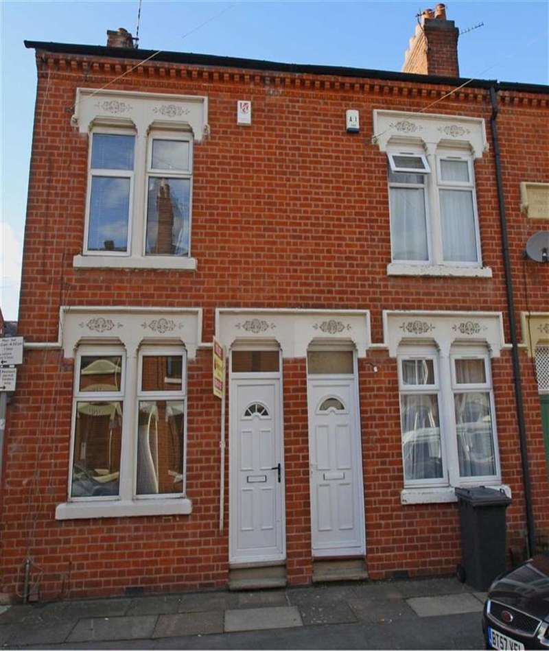 2 Bedrooms Terraced House for sale in Tyndale Street, Leicester, LE3