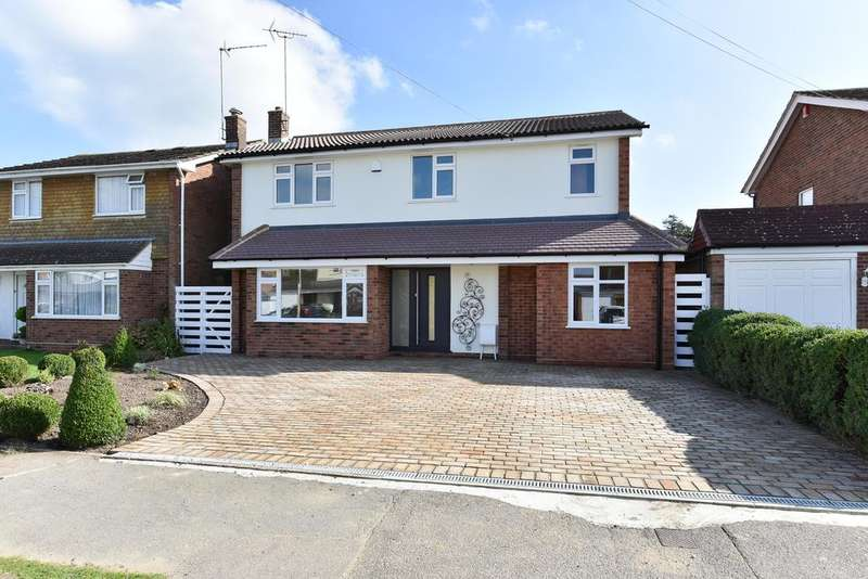 5 Bedrooms Detached House for sale in Grangewood, Potters Bar EN6