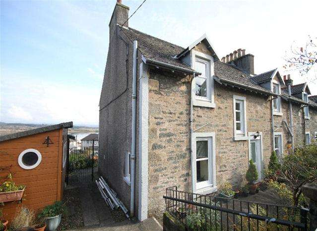 4 Bedrooms Semi Detached House for sale in Seaview, St Clair Rd, Ardrishaig, PA30 8EW