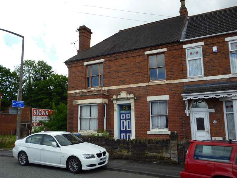 1 Bedroom Flat for sale in STATION ROAD, OLDHILL, CRADLEY B64