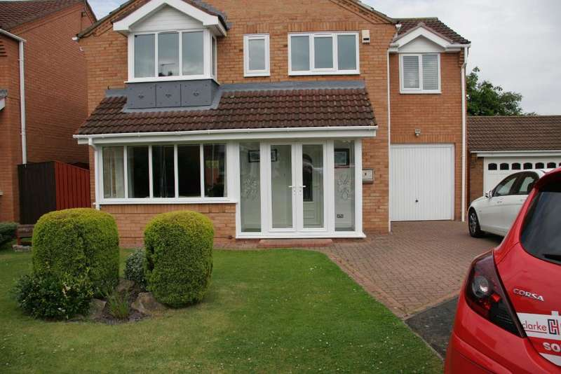 4 Bedrooms Detached House for sale in Shotley Court, Ashington, Northumberland, NE63 8XY